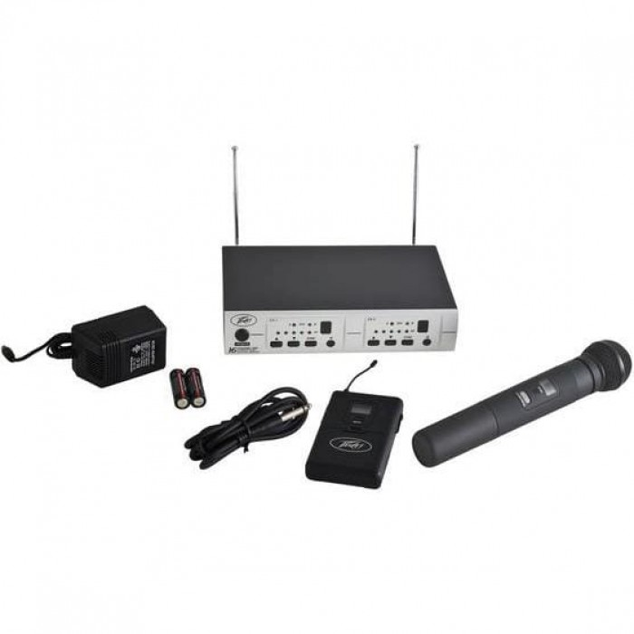 Peavey PV 16DR CHANNEL UHF DUAL RECEIVER - HH - GTR