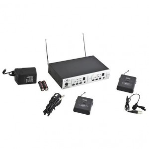 Peavey PV 16DR CHANNEL UHF DUAL RECEIVER - BL - GTR