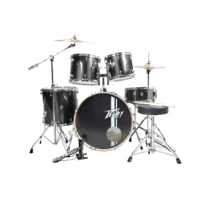 Peavey PV 5 pc drum set Black