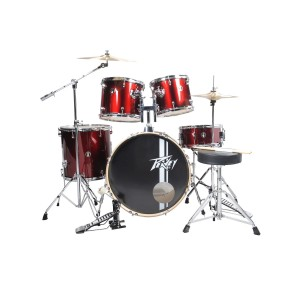 Peavey PV 5 pc drum set Wine Red